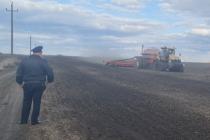 СХП «Мокрое» привлечено к административной ответственности за захват полей в Лебедянском районе