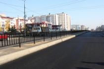В Липецке завершается строительство дороги за 59 млн. рублей