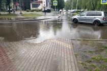 Отремонтированная за 300 млн рублей магистраль в Липецке не выдержала испытание потопом