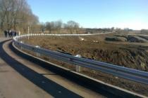 В Липецкой области почти за 30 млн рублей реконструировали автодорогу «Ягодное-Каменка»