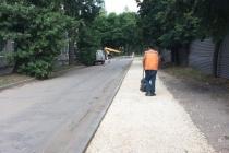 В Липецке обновили около 30 тыс. «квадратов» дорожного покрытия