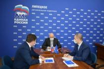 Игорь Артамонов выбрал себе двух заместителей для работы в «Единой России»