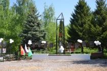 В Добринском районе Липецкой области в рамках программы «Рубль на рубль» установили памятник «Павшим воинам»