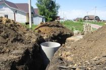 В селе Боринское Липецкой области завершаются работы по устранению причин аварии