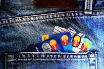 Всего лишь десять процентов липчан не доверяют банковским картам