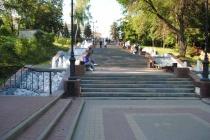 Каскад фонтанов «Соборная лестница» в Липецке вошел в топ-10 главных достопримечательностей Черноземья