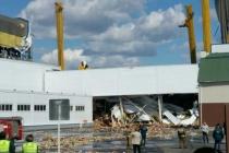 Склад на липецком заводе PepsiCo продолжает разрушаться