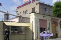В Липецке активисты ЛДПР провели пикет около фабрики «Рошен», принадлежащей Порошенко