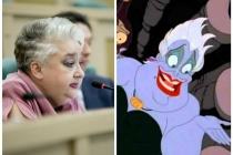 Сенатора от Липецкой области сравнили с персонажем диснеевского мультфильма «Русалочка»