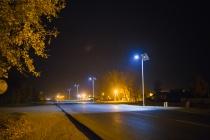 В Ельце установили фонари на солнечных батареях за 3 млн. рублей