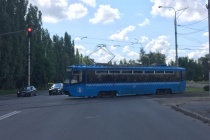 Горожане раскритиковали московские трамваи, подаренные Липецку