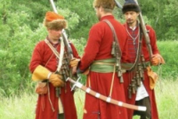 В Липецкой области делают фитильные мушкеты - пищали