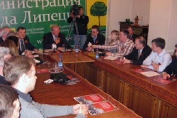 В Липецке раздадут 50 тысяч георгиевских ленточек
