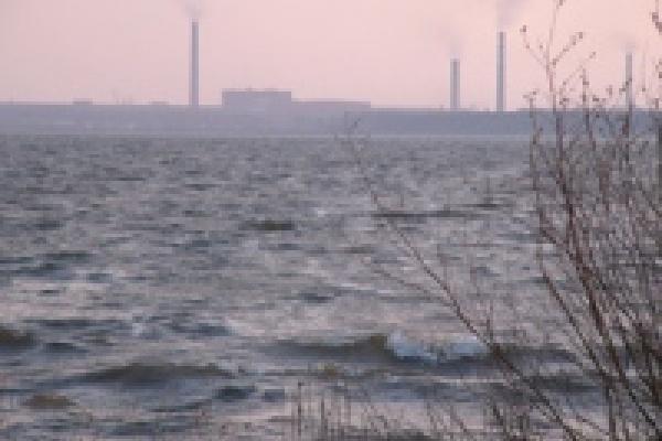 Матырское водохранилище сильно обмелело в период нереста