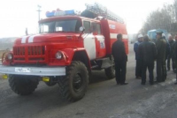Открылся еще один пожарный пост