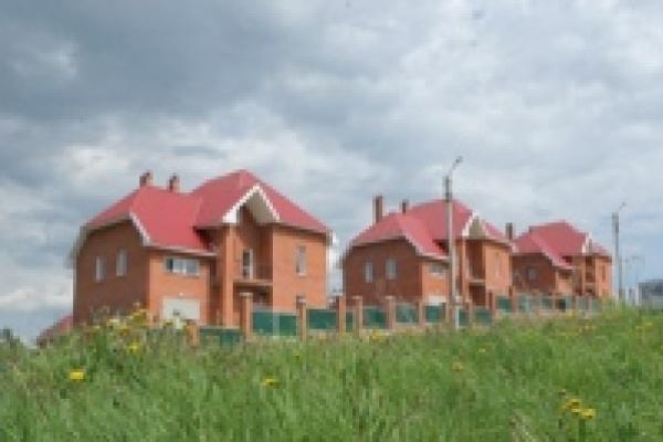 Неподалеку от Липецка начали строить коттеджный поселок