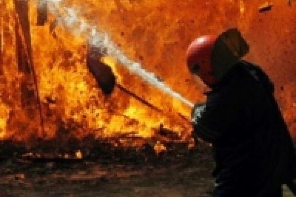 Пожарные спасли пятерых человек