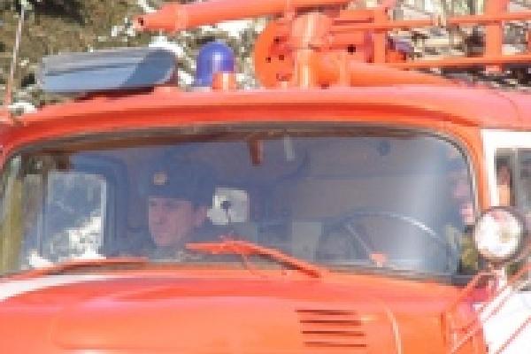 В Липецкой области открывается еще один пожарно-спасательный пост