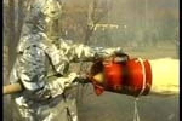 Взрыв на газопроводе