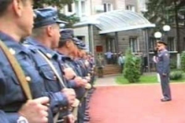 В Липецк из Чечни вернулся отряд милиции