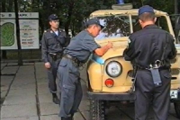 Патруль задержал уличного грабителя