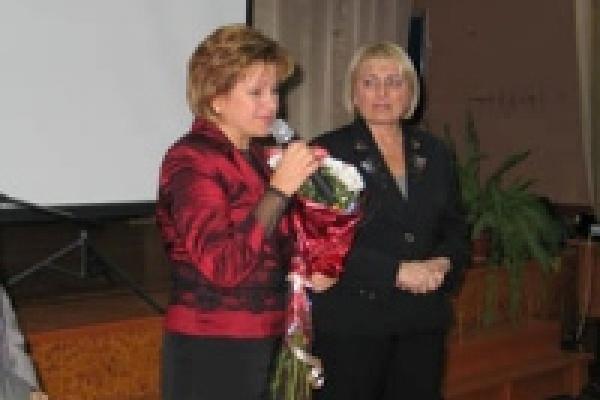 Главная учительница Липецка стала Заслуженной