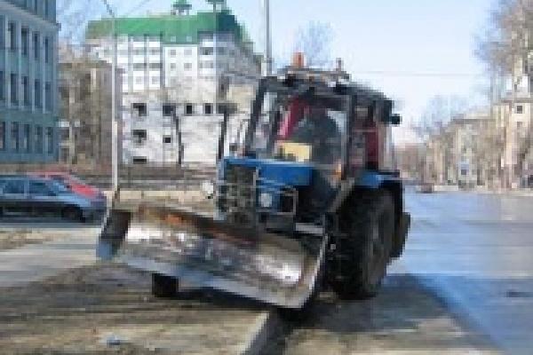 Зимой Липецк будут убирать 80 машин