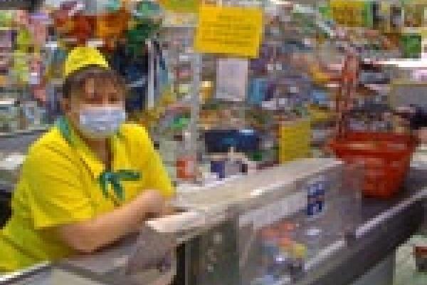 Оштрафовали продавцов без масок