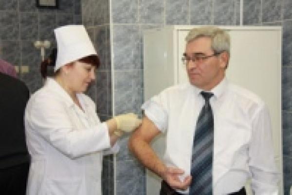 «Свиному» гриппу не место в мэрии