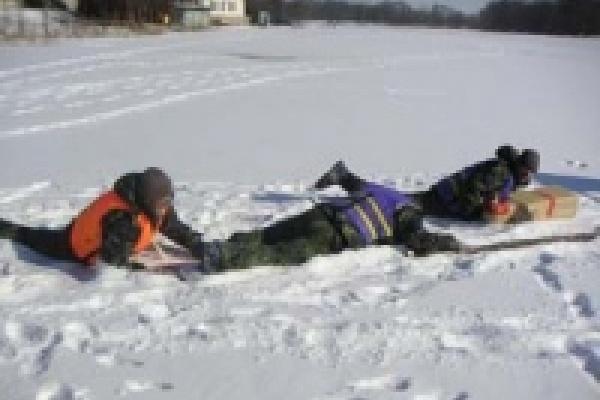Лед уже опасен