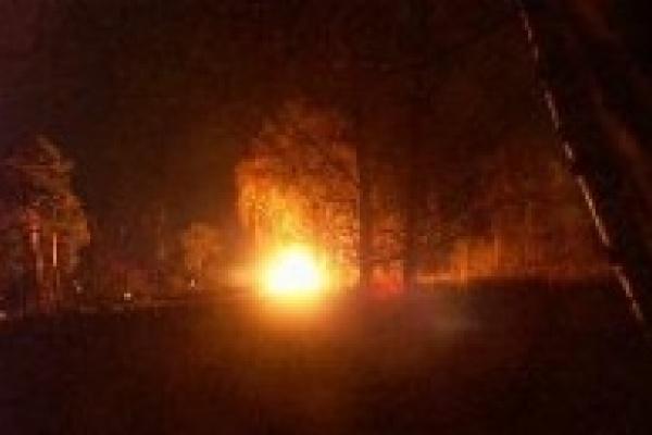 Жертва пожара осталась жива