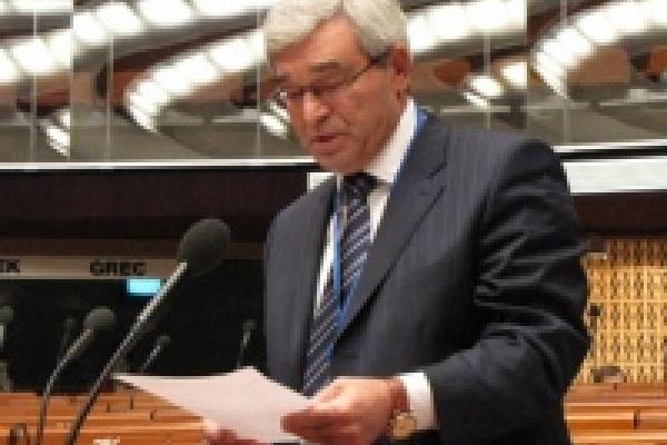 Михаил Гулевский выступил в Совете Европы