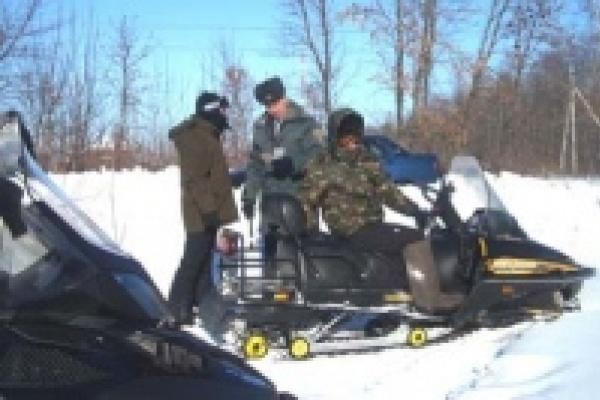 В Липецкой области прошла операция «Снегоход»