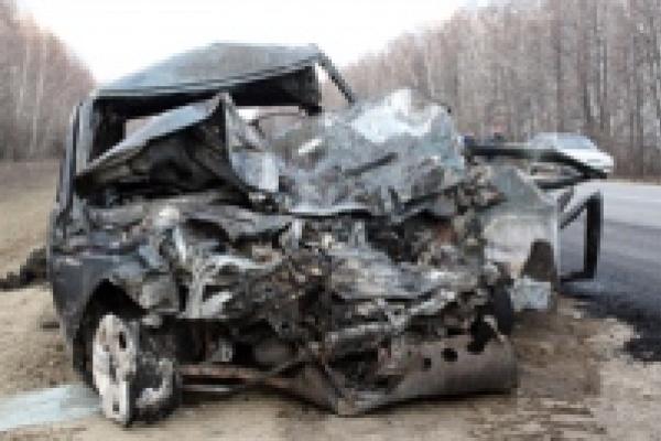 В Липецкой области в аварии погибли пять человек