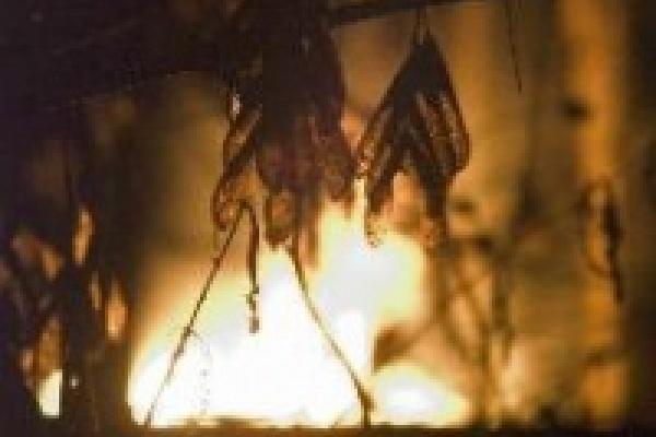Пожар начался в мастерской