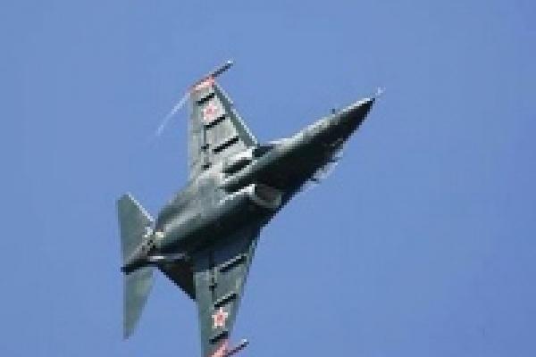 В Липецке разбился военный самолет