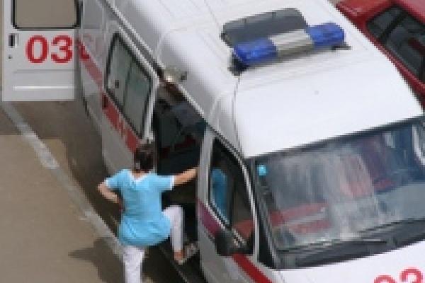 Машина из Липецка протаранила автомобиль в Москве