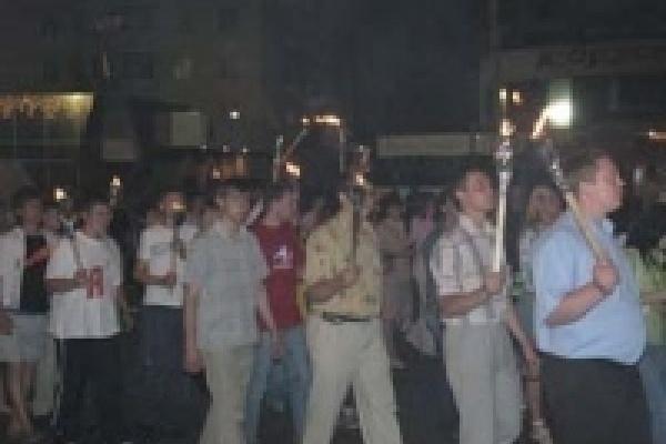 В Липецке 22 июня состоится факельное шествие