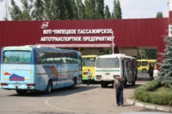Муниципальные автобусы в Липецке сменили место «прописки»