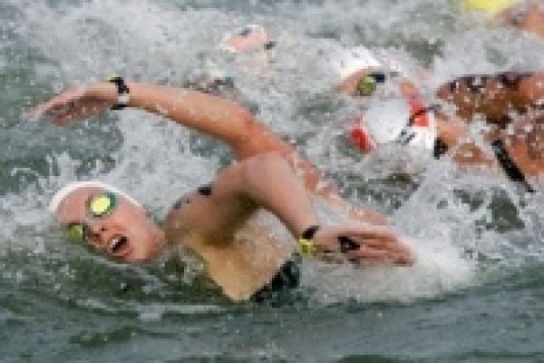 Ксения Попова приплыла седьмой