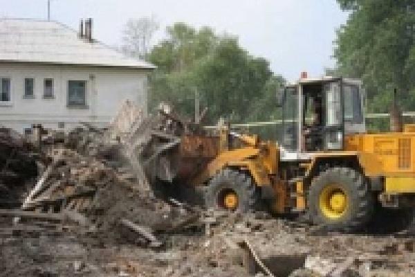 В Липецке сносят аварийные дома