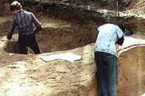 Оружие древнегерманского война нашли в Липецкой области