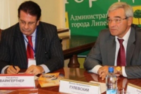 Представитель Совета Европы посетил мэрию Липецка