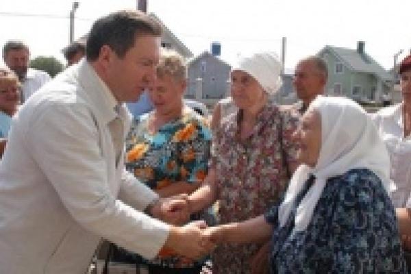 В Липецкой области погорельцы справят новоселье раньше сроков, установленных губернатором и правительством России