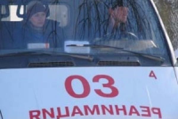 Машина из Липецка перевернулась в Рязанской области