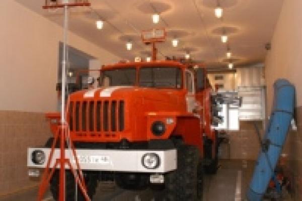 В Липецкой области открыт еще один пожарно-спасательный пост