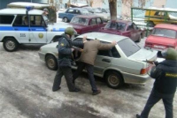 Задержана банда угонщиков