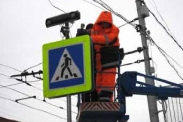 На самом аварийном пешеходном переходе в Липецке регулировать движение  будет «умное оборудование»