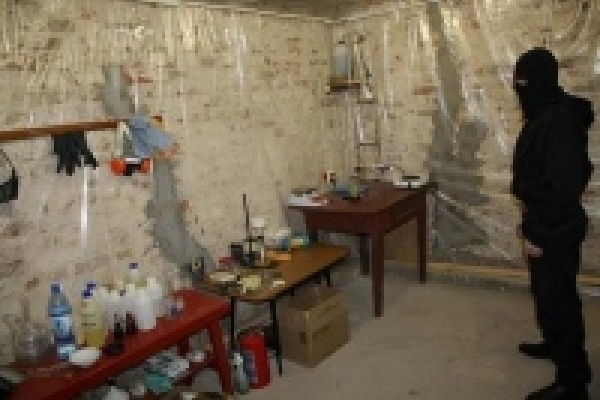 В Липецке ликвидирована лаборатория по производству амфетамина