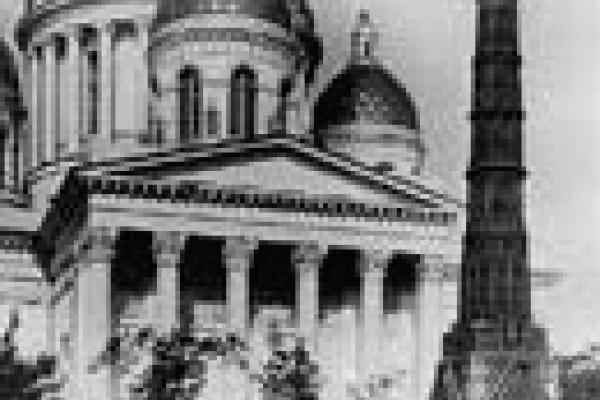 Специалисты из Липецка закончили монтаж памятника в Санкт-Петербурге